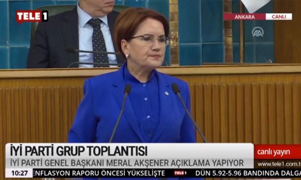 Akşener'den AKP'ye: İnek hırsızından kahraman çıkarmaya çalışmak ahmaklıktır