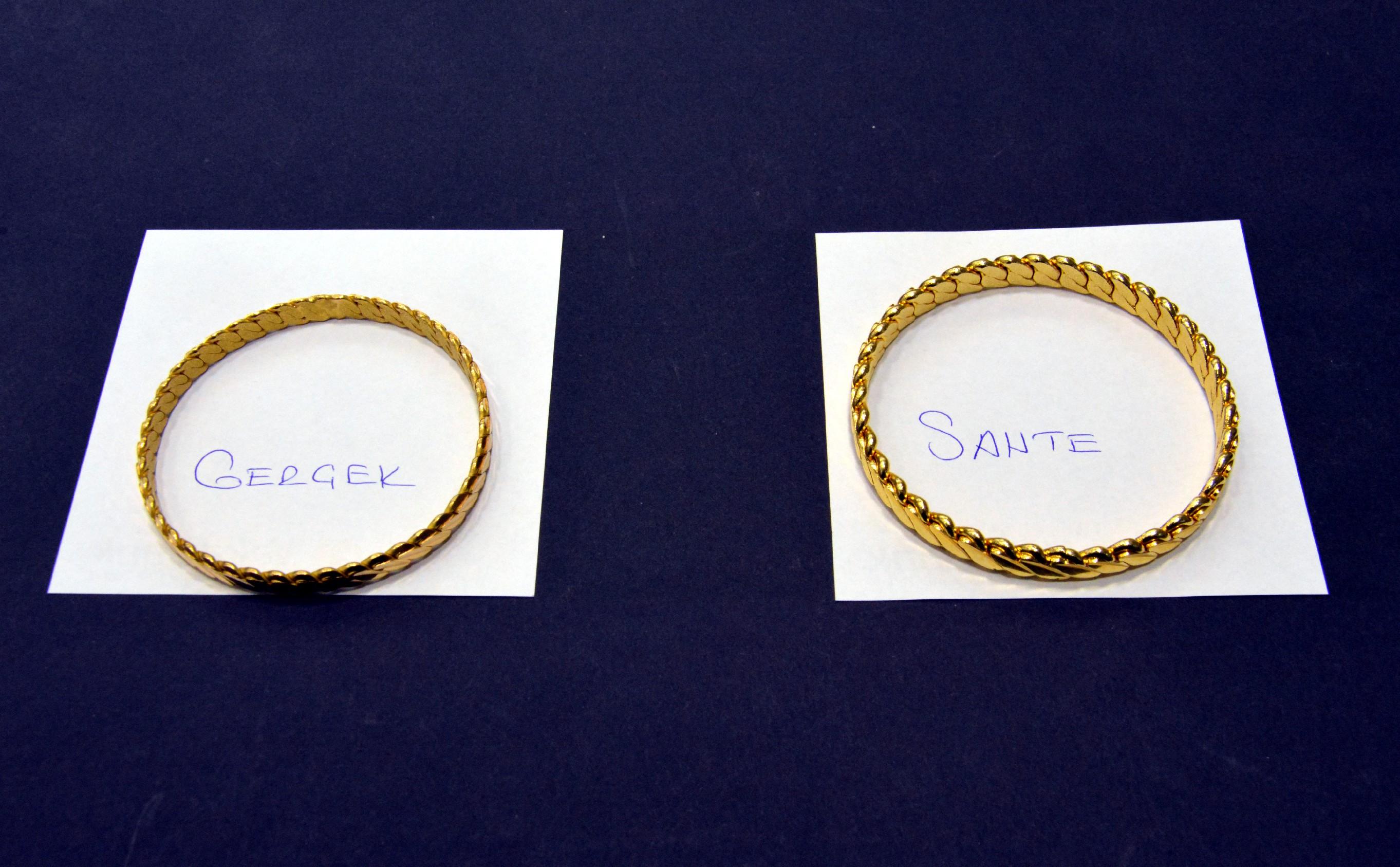 Düğünlerin yeni takısı; çeyrek gram altın