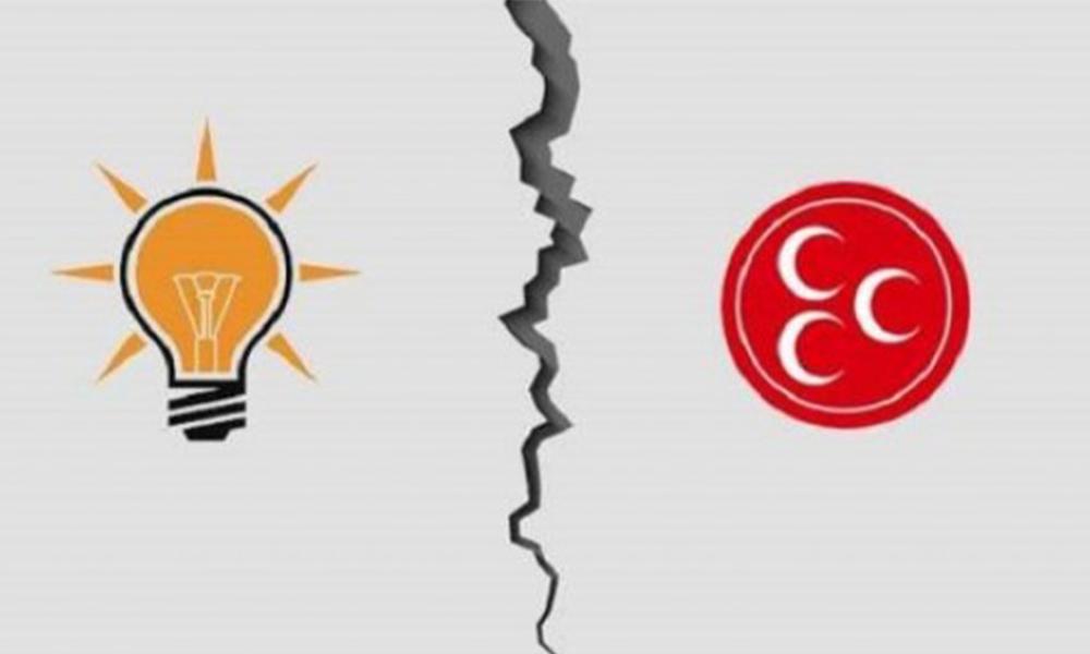 Saray İttifakı'nda rapor krizi: Sizin gibi ortak düşman başına