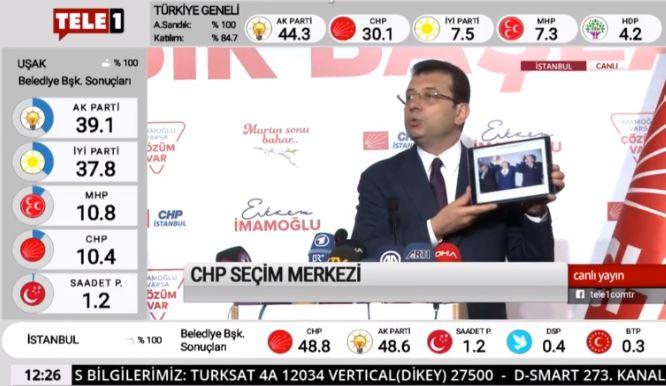 Ekrem İmamoğlu bu fotoğrafı gösterdi: YSK'ya çağrıda bulundu