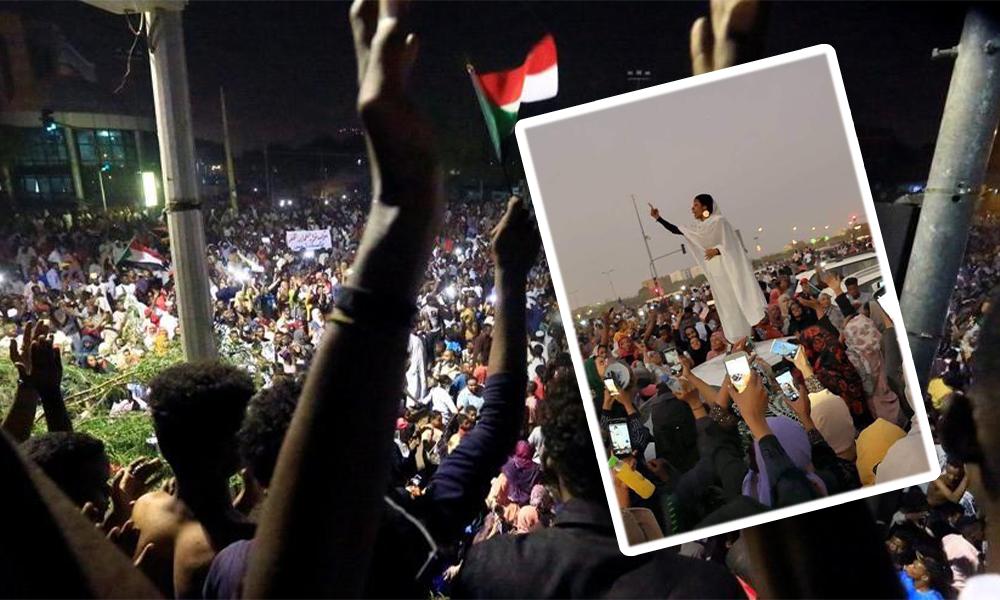 Bir siyasal İslamcı diktatör daha devrildi! Direnişin sembolü kadına ölüm tehdidi