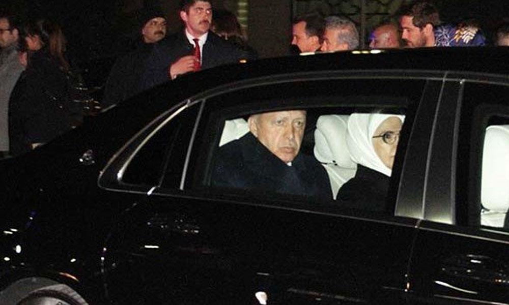Erdoğan İstanbul'a geldi