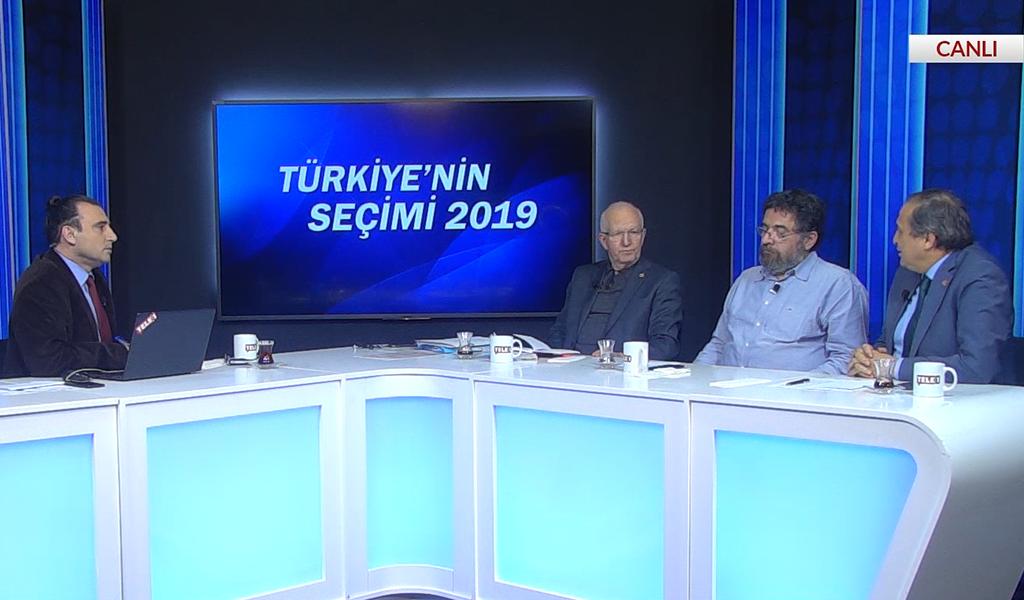 İbrahim Kaboğlu, Seyit Torun, Kemal Can, Hilmi Hacaloğlu – Türkiyen'in Seçimi (8 Nisan 2019)