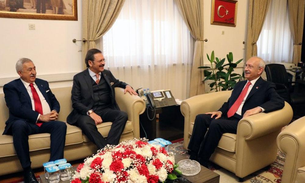 Rifat Hisarcıklıoğlu ve Bendevi Palandöken'den Kılıçdaroğlu'na ziyaret