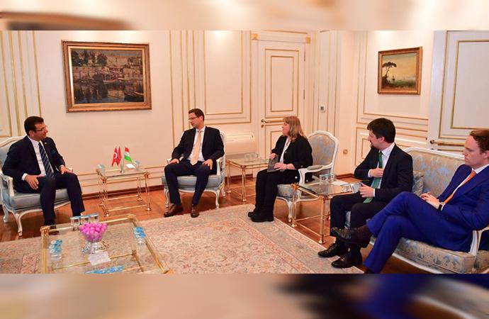 Macaristan Devlet Bakanı Gulyas'tan İmamoğlu'na tebrik ziyareti