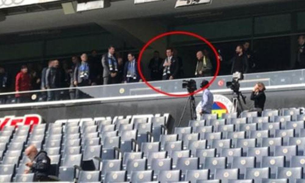 İmamoğlu Fenerbahçe Stadı'nda böyle karşılandı