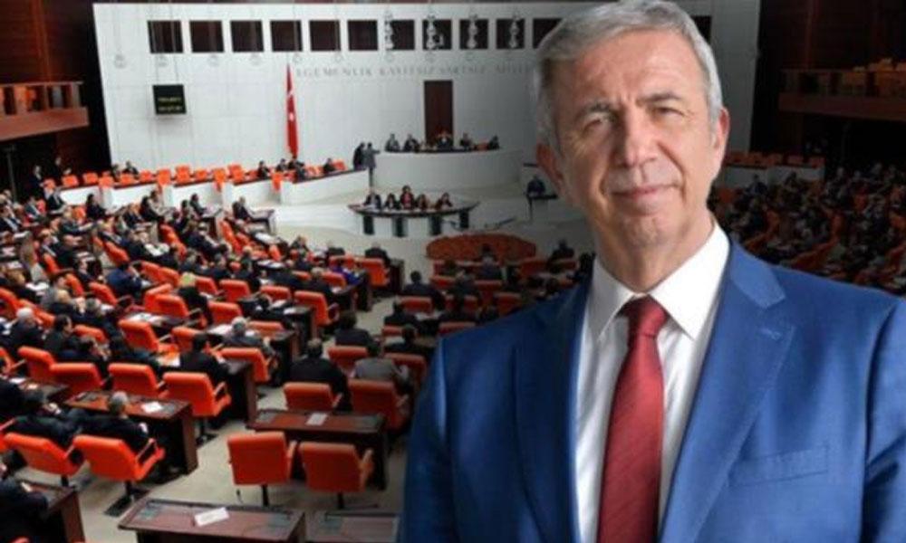 Meclis'ten Mansur Yavaş'a ambargo