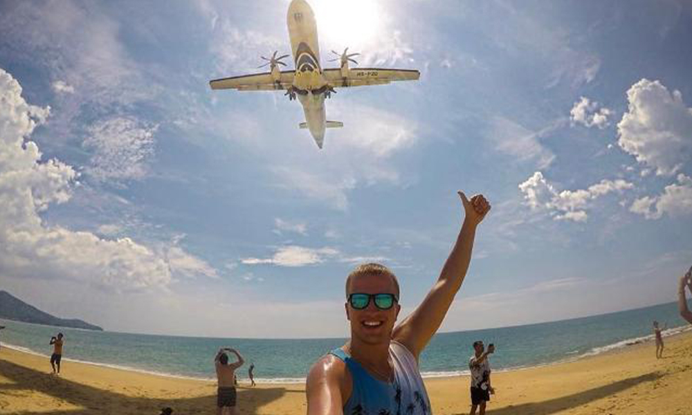 Uçakla selfie'nin cezası idam olabilir!
