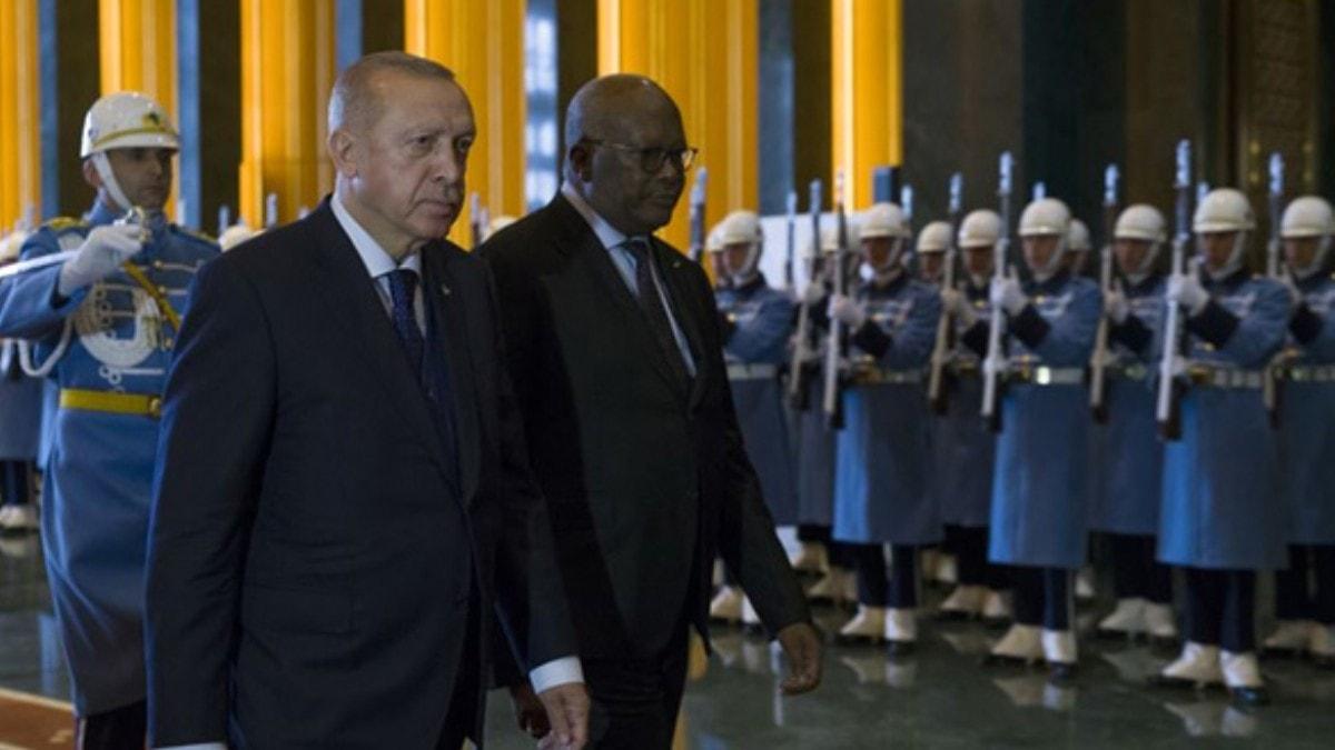 Cumhurbaşkanı Erdoğan ve Kabore'den ortak basın toplantısı