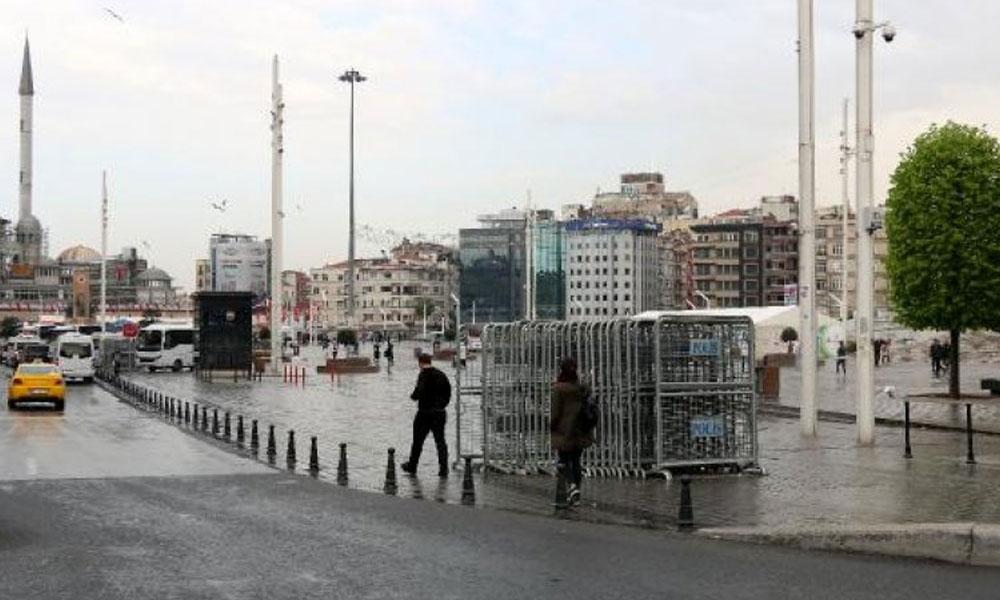 1 Mayıs öncesi Taksim'de olağanüstü hal!