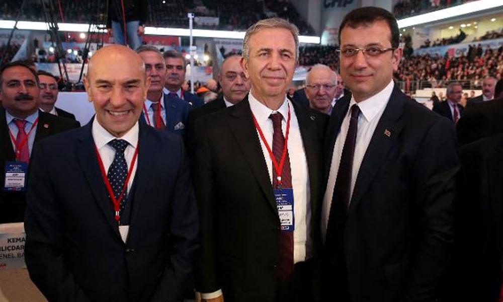 Mansur Yavaş ve Tunç Soyer'den İmamoğlu'na tebrik
