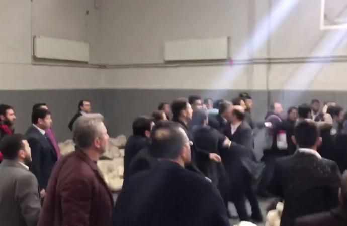 AKP'liler Üsküdar Seçim Kurulu'nu bastı, yumruklar havada uçuştu…