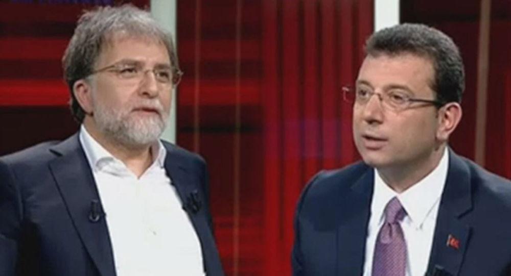 İYİ Partili Aslan: Kanaldan bir yetkili ile görüştüm, İmamoğlu'nun katıldığı program talimatla erken bitirildi