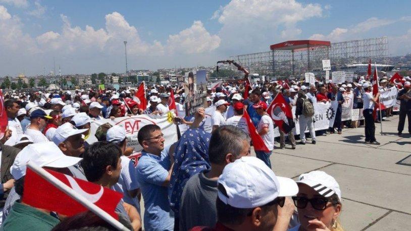 EYT mağdurları bu kez Yenikapı'da buluştu!