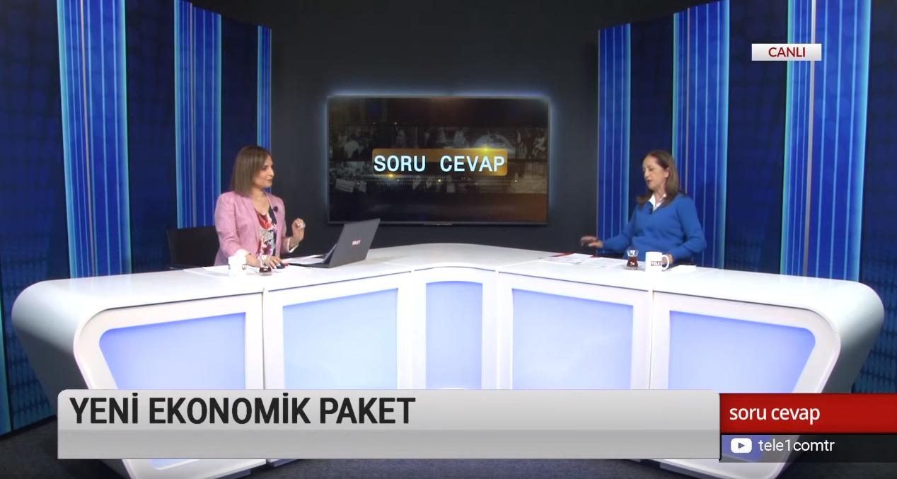Arzu Çerkezoğlu, Meral Danış Beştaş, Ayşegül Doğan – Soru Cevap (1 Mayıs 2019)