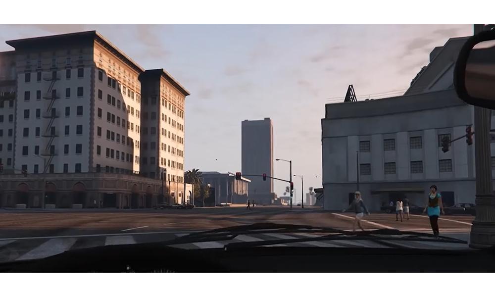 GTA oyunu ile yaya önceliği öğretildi!