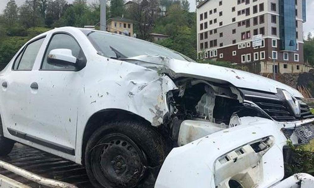 MHP MYK üyeleri kaza yaptı! Yaralılar var