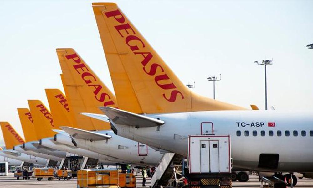 Pegasus'tan uçuşlara iptal kararı