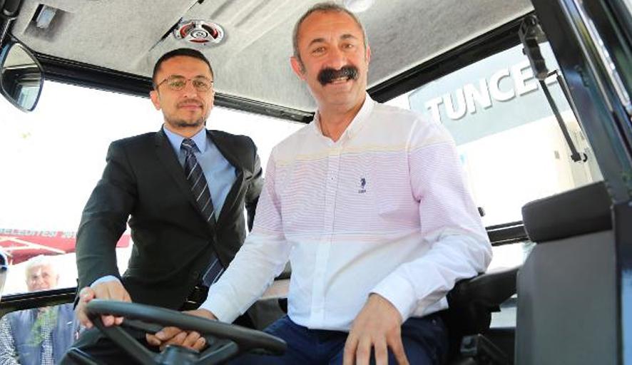 Çiftçiler Günü'nde Tunceli Belediyesi'ne sürpriz!