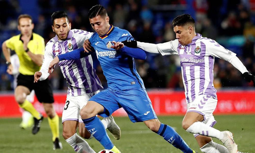 Enes Ünal'ın golü Valladolid'i La Liga'da tuttu