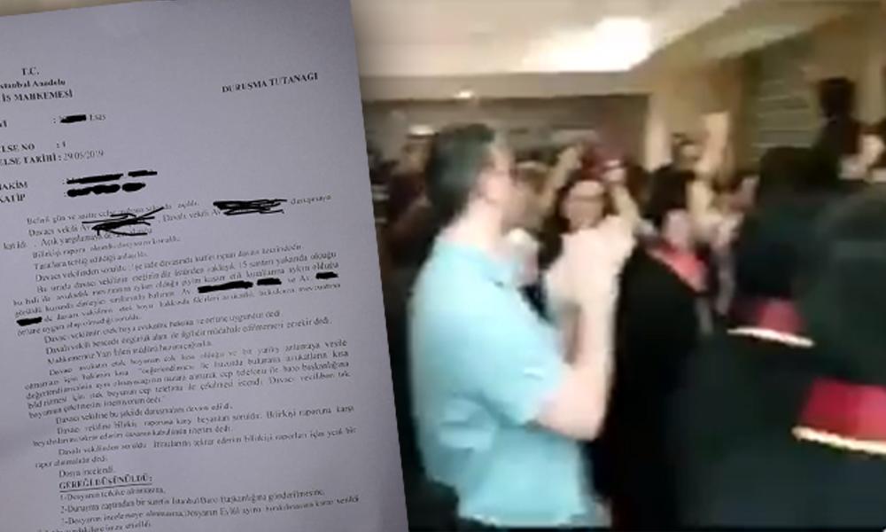 'Etek Boyu Rezaleti' Hakim avukatın etek boyunu kısa buldu, fotoğrafını baroya göndermek istedi! Avukatlar mahkeme önünde protesto etti