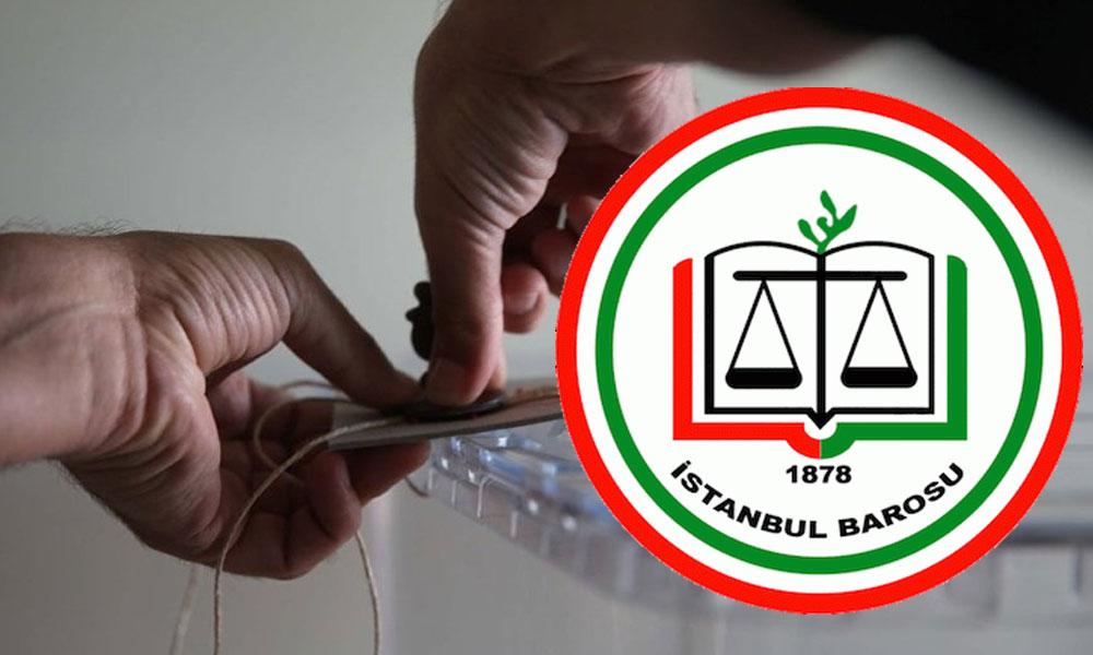 İstanbul Barosu: Seçimin kendisi değil, iptal kararı şaibelidir
