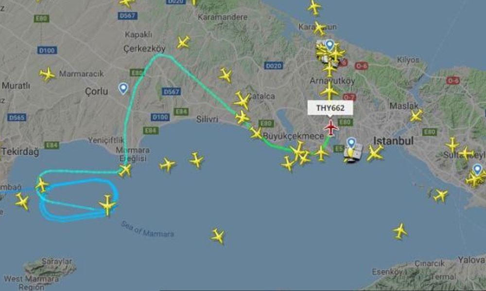 İstanbul Havalimanı'ndaki hava sahası uçuşlara uygun değil! Uçaklar tur atmak zorunda kalıyor…