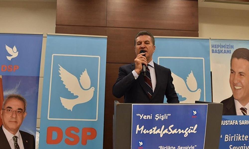 Sarıgül aday olacak mı? DSP'den açıklama geldi…