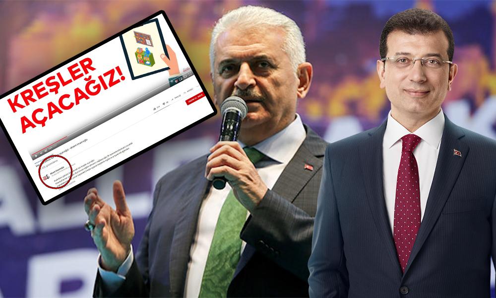 Binali Yıldırım, slogandan sonra Ekrem İmamoğlu'nun vaadini de 'çaldı'