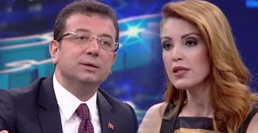 Nagehan Alçı'ya sosyal medyada 'İmamoğlu' tepkisi!