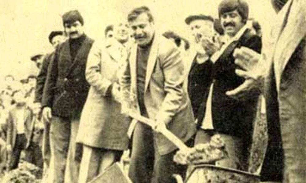 """""""Ne yaptıysa halkı için, halkı ile birlikte yaptı!"""" Terzi Fikri, ölümünün 34. yılında unutulmadı…"""