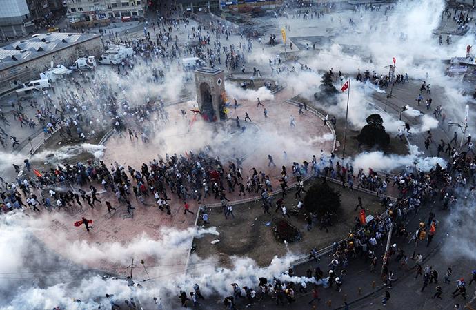 Gezi Parkı'ndaki gaz fişeği eziyet sayıldı