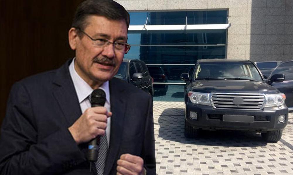 """Cipi belediyenin garajına çekilen Gökçek: """"Araçlar benim değil, korumalarıma ait…"""""""