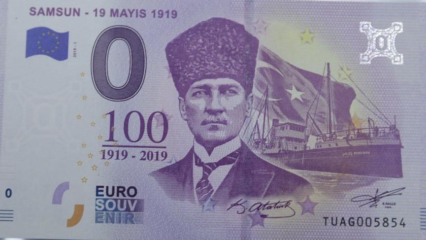 Türkiye'de fotoğrafı konmadı… Avrupa'da Atatürklü 100. yıl parası