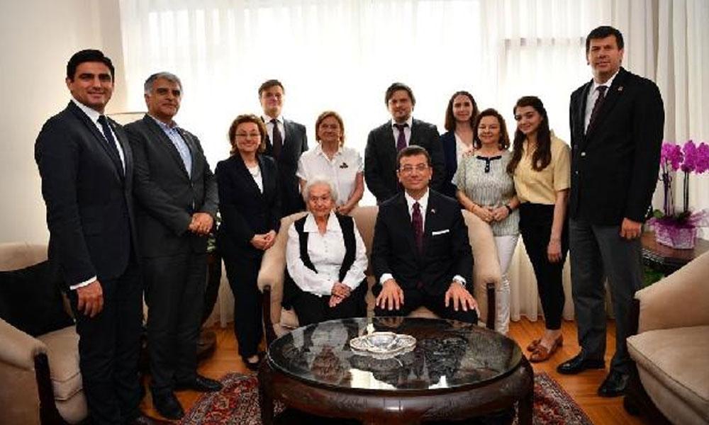 Celal Bayar'ın kızından İmamoğlu'na destek: Partiler memleket için, memleket parti için değil