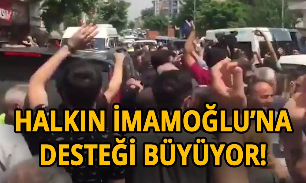 Cami çıkışı Ekrem İmamoğlu'na yapılan provokasyona halk böyle cevap verdi