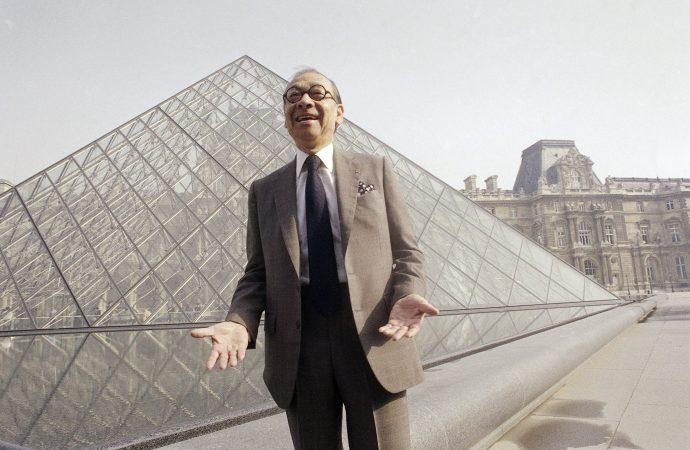 Louvre Müzesi'ndeki piramitin Çinli mimarı Pei 102 yaşında öldü