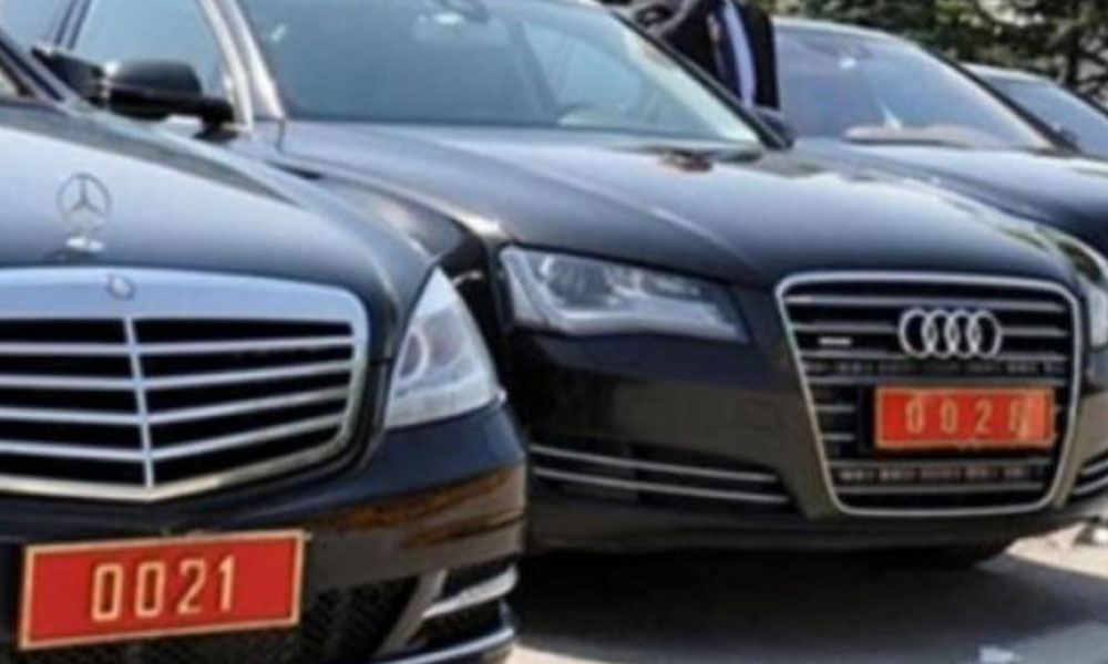 Meclis'te tasarruf yok: Yeni makam arabaları alındı