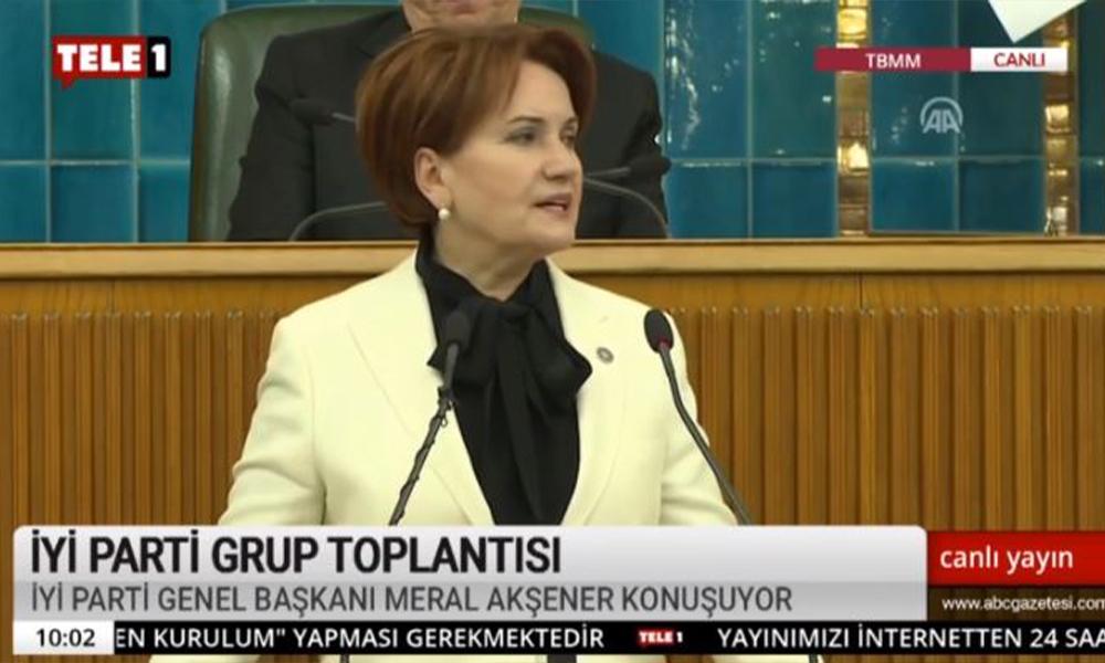 Akşener'den Erdoğan'a 'Manevi kızını bile koruyamadı'