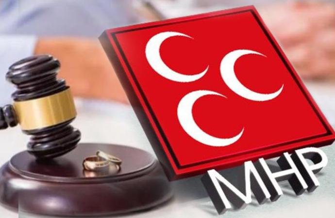 MHP'nin 'nafaka ödeme sistemi'nde değişiklik teklifi hazır