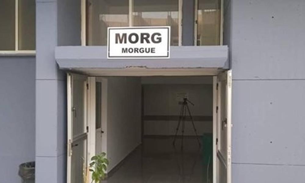 Morg kayboldu, Sağlık Müdürlüğü harekete geçti