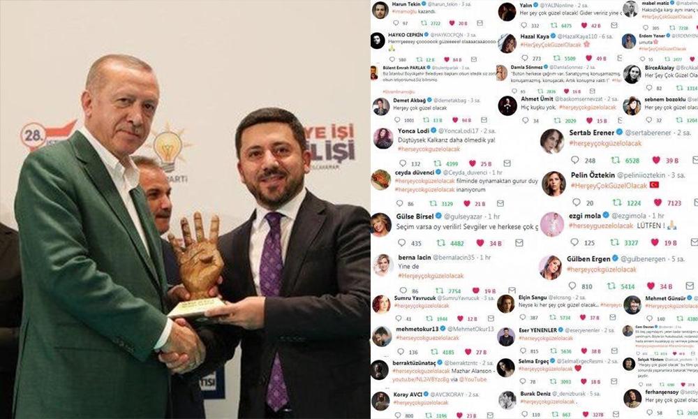 Nevşehir'in AKP'li başkanından, 'Her şey güzel olacak' diyen sanatçılara sahne yasağı