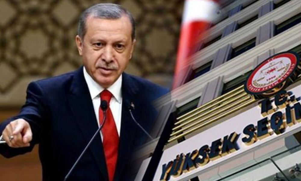 'Erdoğan YSK'ya talimat verdi'