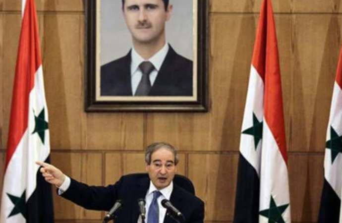 Suriye dışişleri bakanı: 'Türkiye bilsin, her karış toprağımızı geri alacağız'