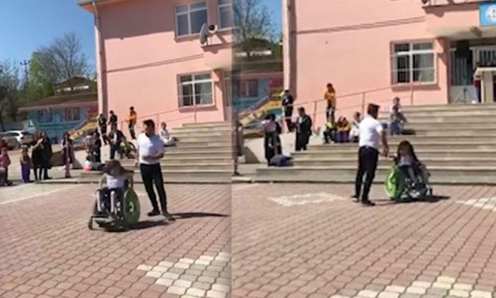 Engelli öğrencisiyle tango yapan Çağlar öğretmene destek yağdı