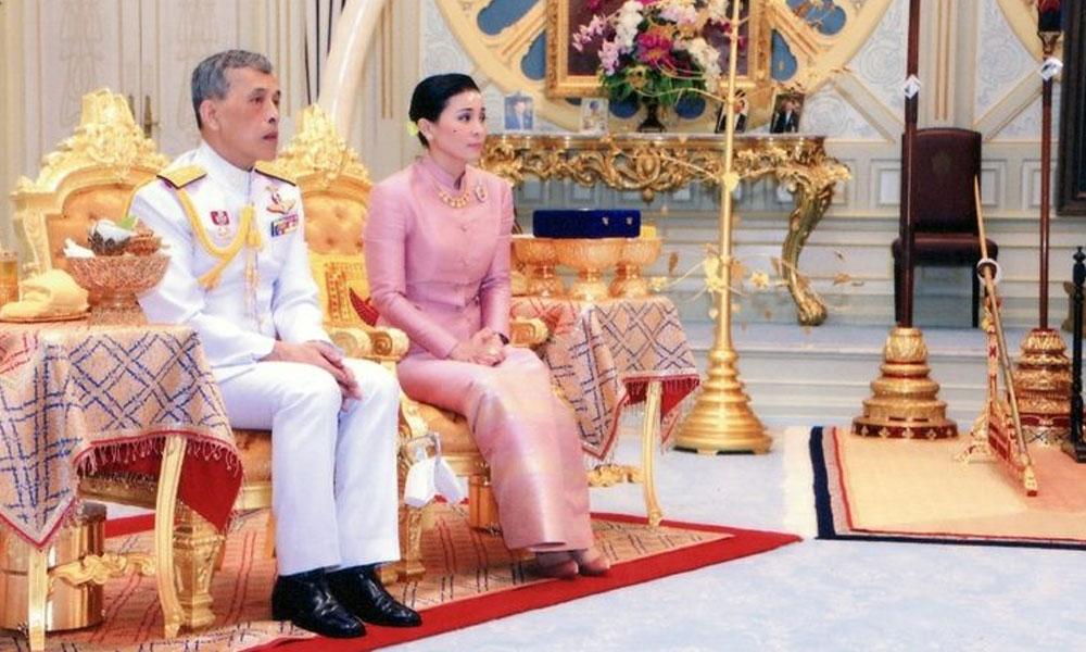 Tayland Kralı 'resmi' metresini affetti! Hapisten çıkıp korona haremine girdi