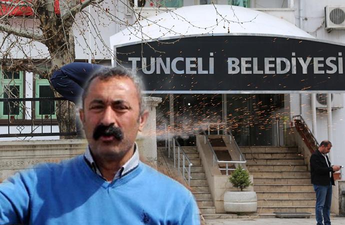 Tunceli Belediyesi'nin tabelası değişiyor!