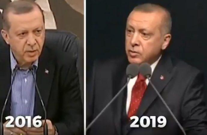 2016'da AYM'ye saygı duymuyorum diyen Erdoğan… Yargıyı hedef göstermek ahlaksızlık