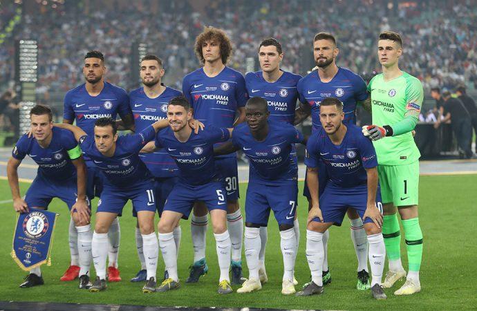 UEFA Avrupa Ligi finalinde zafer Chelsea'nin!