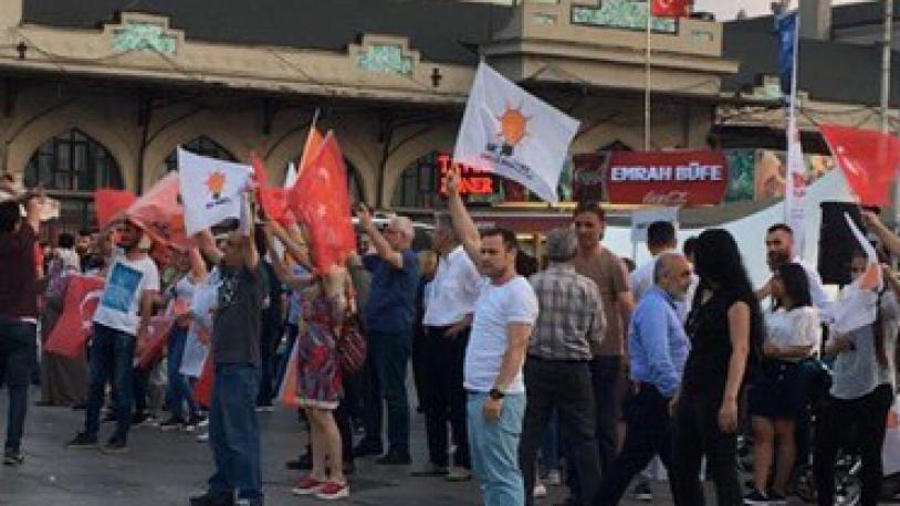AKP'den Kadıköy'de provokasyon girişimi